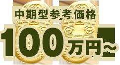 中期型参考価格 100万円~