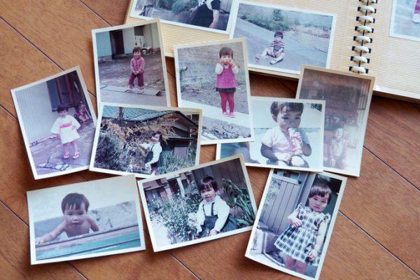 子どもの時の写真あてゲーム