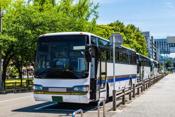 移動手段は「バス」が定番!