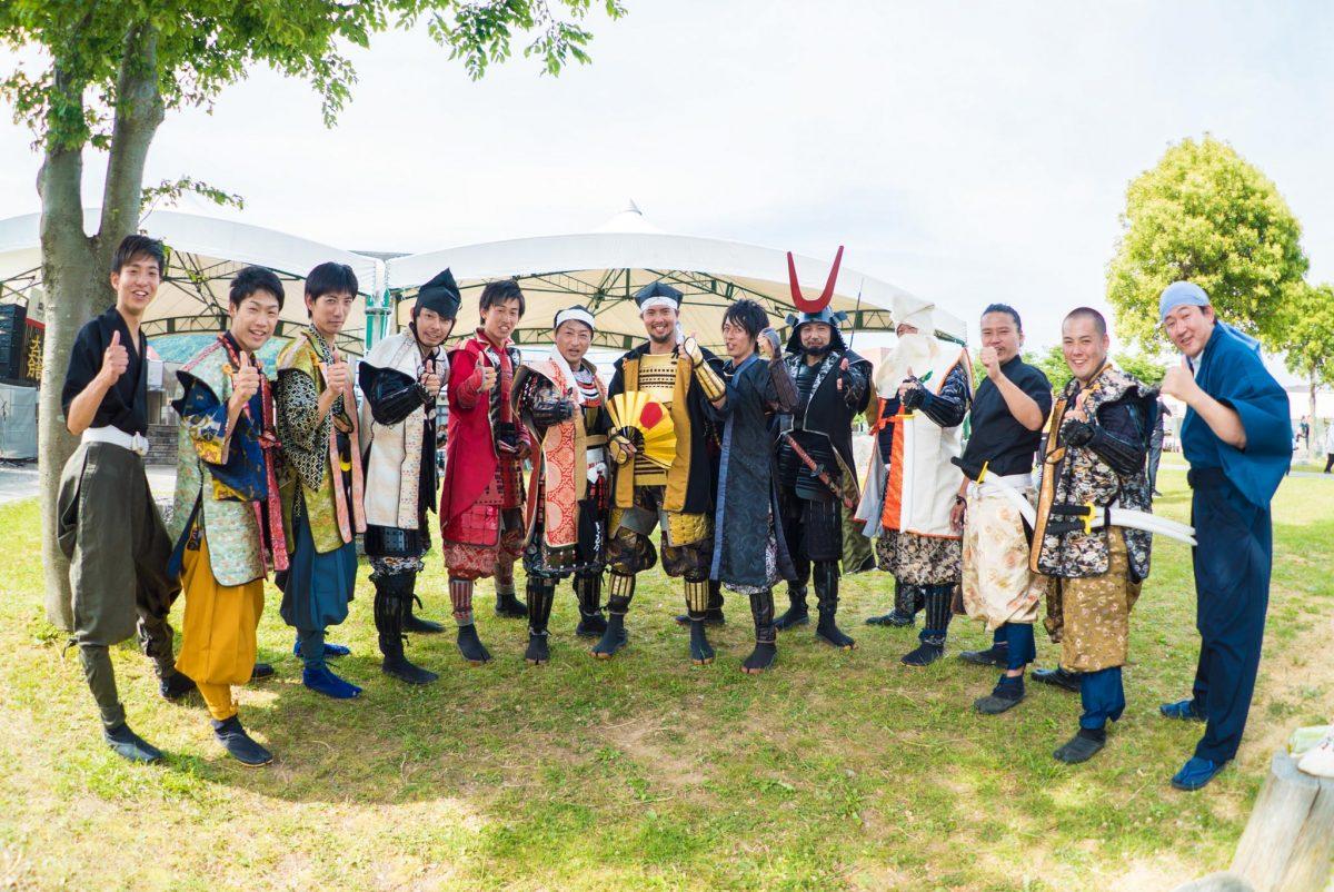 歴史・戦国系イベントの新定番!関ケ原の戦いをチャンバラ合戦で再現!