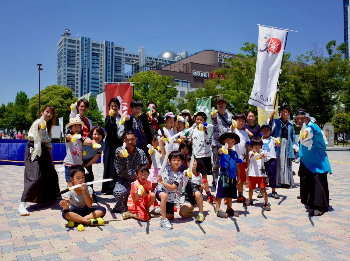 """親子向けフェスKid's Festa """"MORE""""にチャンバラ合戦登場!幕末のヒーローと合戦!"""