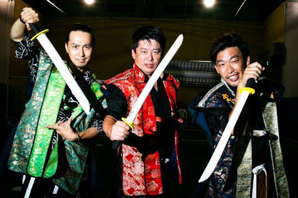 最強の三武将