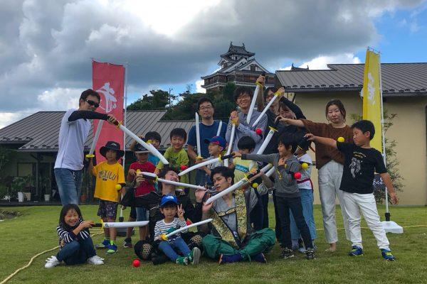 2020年大河ドラマのロケ地!?福知山城でのチャンバラ合戦開催レポート