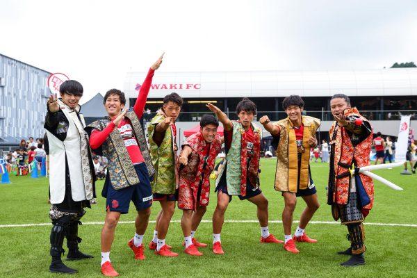 いわきFCとコラボレーション!いわきドリームチャレンジ2018!