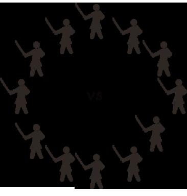 バトルロイヤル戦