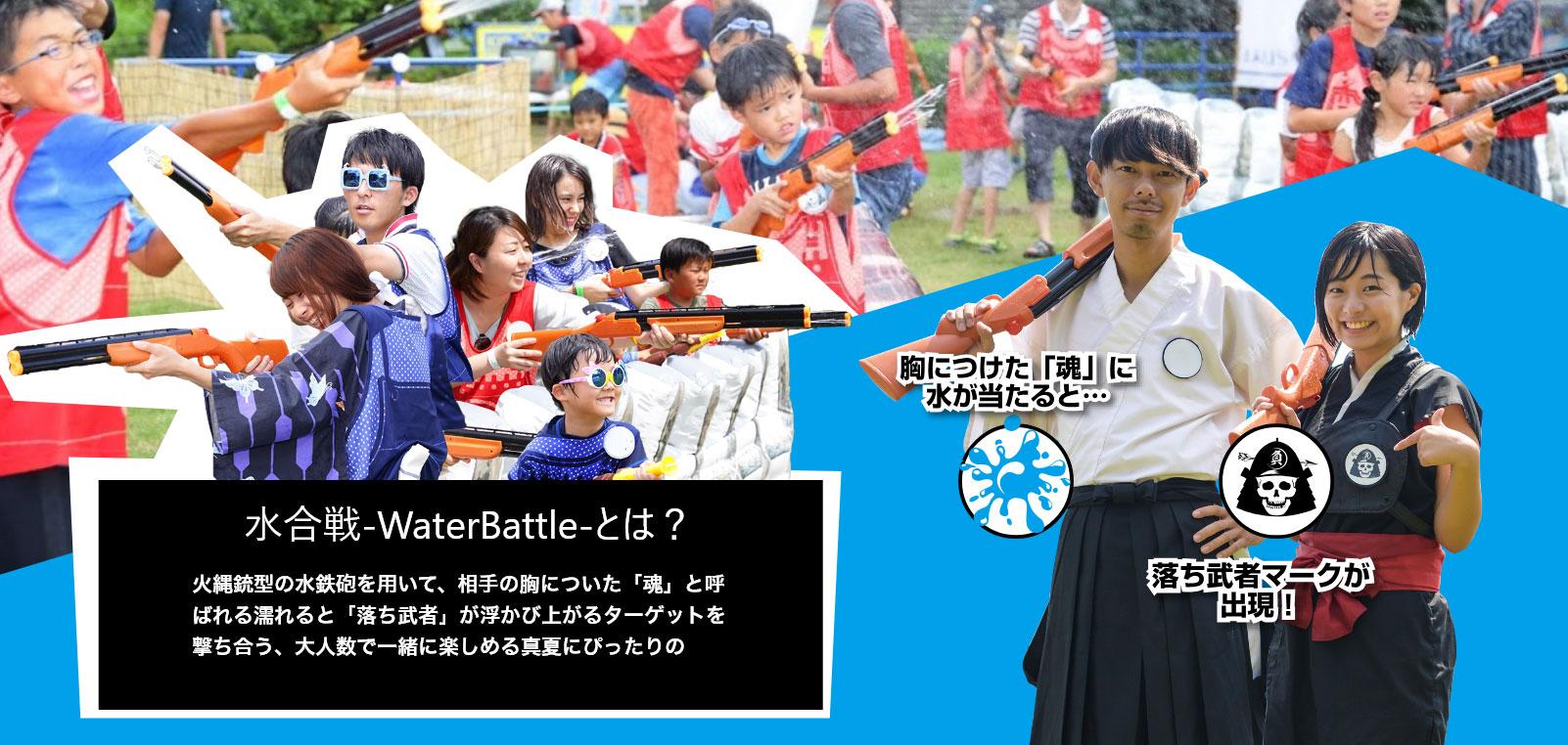水合戦-WaterBattle-とは?
