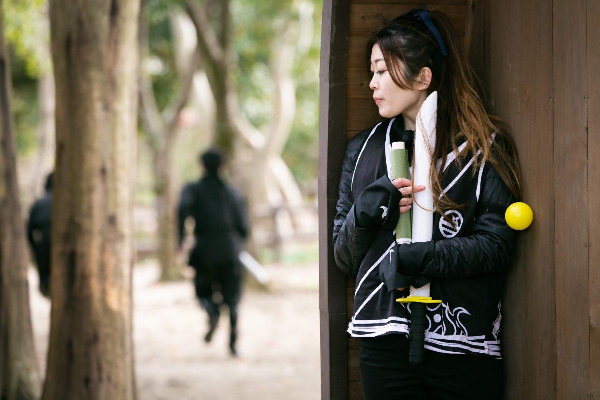 【山奥で忍者体験!?】「忍・ザ・リアル」がマインドフリー様の社員旅行で開催!