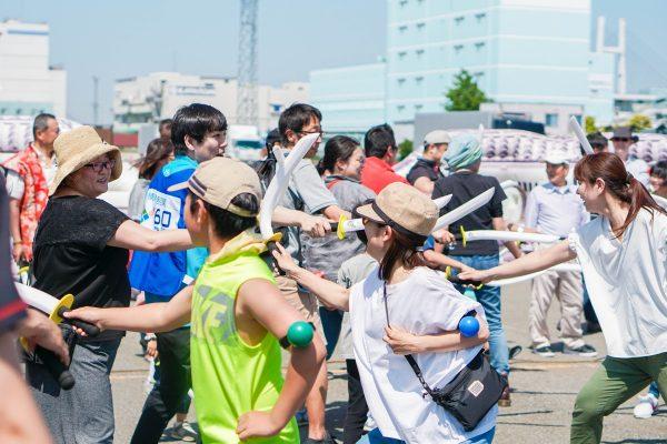 山下ふ頭では「チャンバラ三国志 in 横濱」を開催!