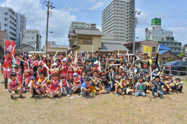 手作り甲冑〜赤備え&黒備え〜とチャンバラで盛り上げる!岩倉市開催レポート!