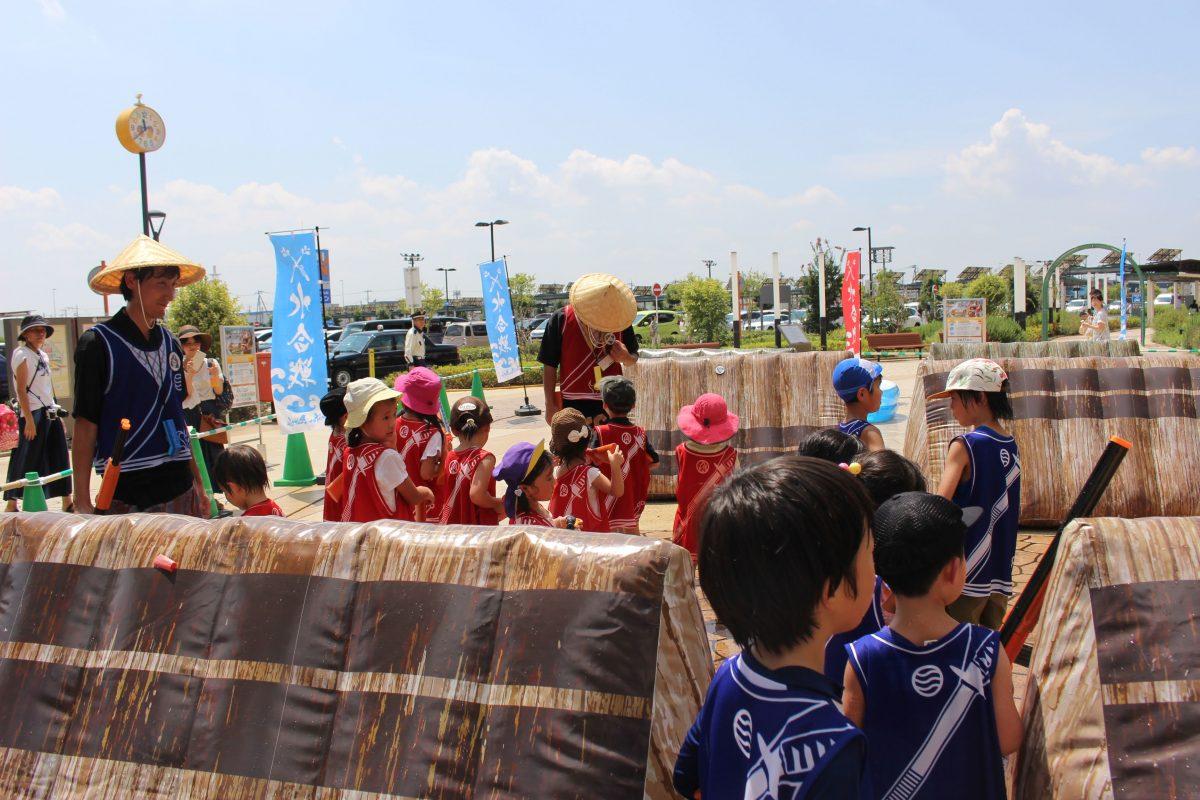 【開催レポート】アリオ上尾で水合戦!ショッピングモールに現れた戦場を大公開!
