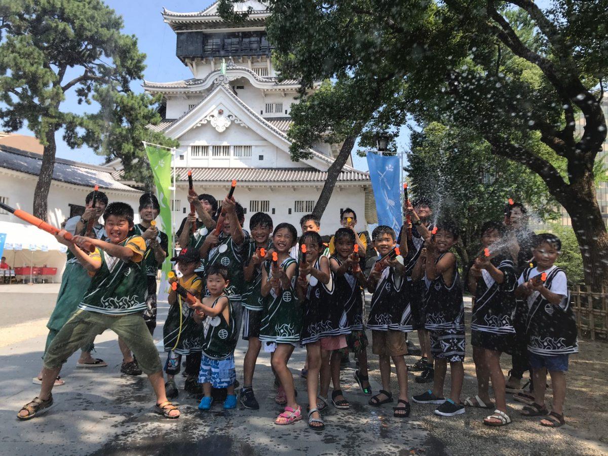 【開催レポート】福岡・小倉の「わっしょい百万夏まつり」で「水合戦」を実施しました!!