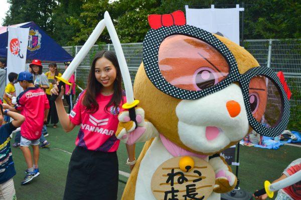 チャンバラ合戦でスポーツイベントを盛り上げる!セレッソ大阪・SAKURAキッズデーにてセレッソチャンバラを開催!