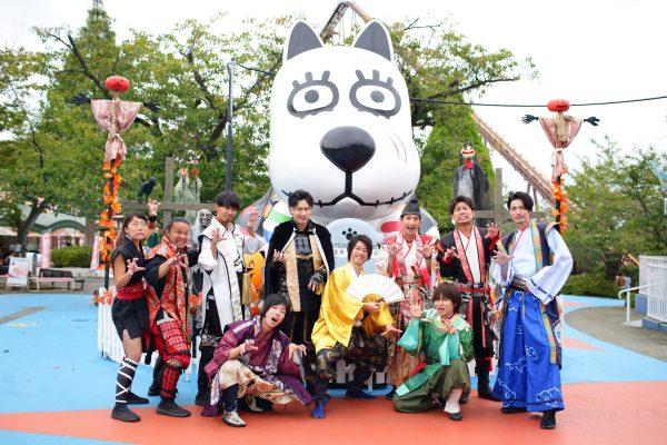 【開催レポート】つ、ついによみうりランドに神戸・清盛隊がやってきた!蘭丸大興奮の一日に迫る!