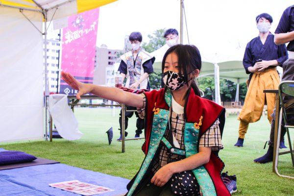 外イベントでも非接触で盛り上がる!富山城址公園でワークショップ祭り〜富山城フェス2020〜