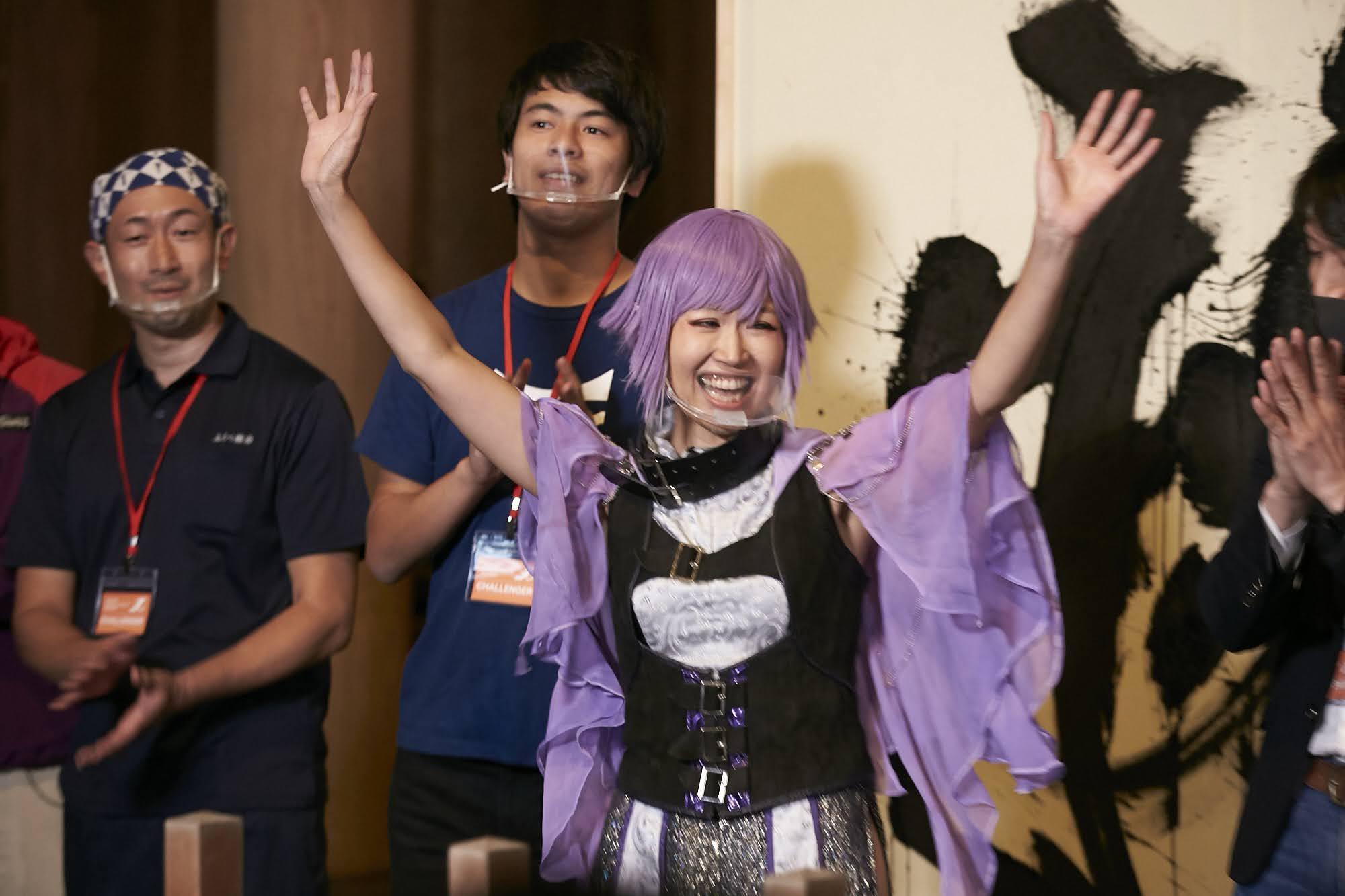 グランプリに輝いたのは、コノミアキラさん!